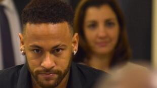 Dan wasan kungiyar PSG, Neymar.