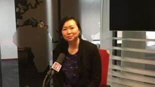 Christine Huynh volontaire du projet Specially Unknown mené par l'association Générique