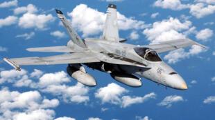 Tiêm kích F/A18 Hornet của Hải quân Mỹ trên không phận Biển Đông
