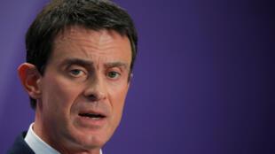 លោក ម៉ានុយអែល វ៉ាល់ស៍ (Manuel Valls) ប្រកាសឈរឈ្មោះជាបេក្ខជនប្រធានាធិបតី