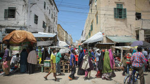 Une rue de Mogadiscio, la capitale somalienne. (Image d'illustration)