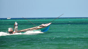 A fisherman in Montego Bay, Jamaica