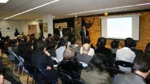 Lễ ra mắt Hội Doanh nhân người Việt Nam tại Pháp (DR)