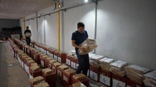 Preparativos para as eleições neste domingo no Uruguai
