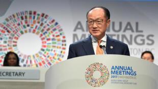 Le président de la Banque mondiale Jim Yong Kim.