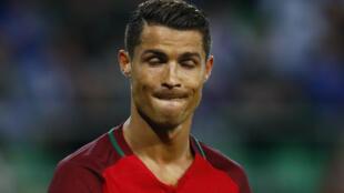 El delantero portugués Cristiano Ronaldo.