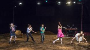 Une scène de «L'Éveil du Printemps», jouée au Théâtre de la Tempête à Paris, le 26 février 2020.