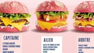 Speed Burger lançou hambúrguer rosa para a Copa do Mundo de futebol feminino