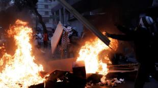 As manifestações contra Temer em 28 de abril terminaram em tumulto