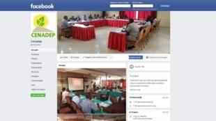 Le CENADEP organise les réseaux de jeunes éboueurs à Kinshasa (capture d'écran Facebook)