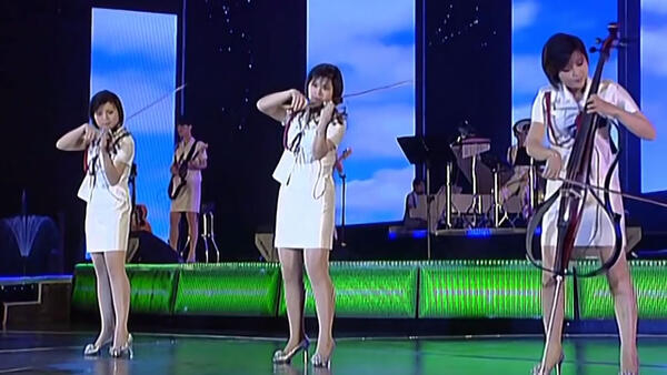 O grupo pop mais popular da Coréia do Norte, Moranbong