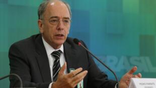 O presidente da Petrobras, Pedro Parente.