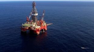 Une plate-forme pétrolière au large du Venezuela (image d'illustration).