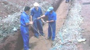 Usina de extração e tratamento de níquel e cobalto Pedro Soto Alba, em Moa, no leste de Cuba.