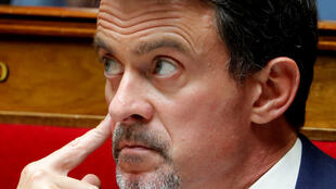 Manuel Valls in the National Assembly
