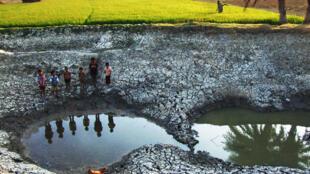 Les effets de la sécheresse en Inde.