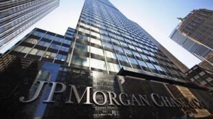 Trụ sở của tập đoàn JP Morgan Chase, New York, Hoa Kỳ - REUTERS