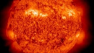 Researchers have found out that the Sun's core rotates four times faster than its surface.