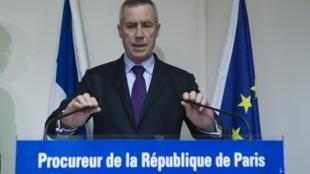 Paris prosecutor François Molins