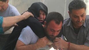 قربانیان بمباران رژیم بشار اسد در حلب