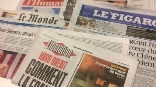 Primeiras páginas dos jornais franceses 6 de fevereiro de 2019