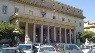 The criminal court of Aix en Provence.