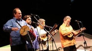 "El grupo musical venezolano Serenata Guayanesa"", creado en 1971, se ha especializado en música tradicional criolla. D.R"