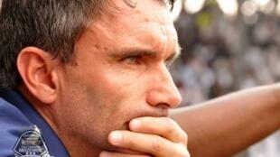 L'entraîneur du Tout Puissant Mazembe, le Français Patrice Carteron.