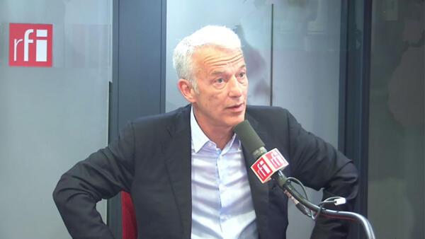 Patrick Martin, président délégué du Medef sur RFI, le 8 janvier 2020.