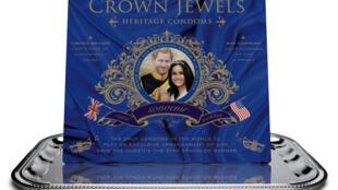 Camisinhas são vendidas como lembranças do casamento do príncipe Harry com a atriz americana Megan Markle.