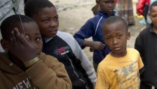 Enfants du Cap, Afrique du Sud.