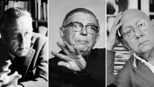 لوئی آلتوسر، ژان-پل سارتر، کورنلئوس کاستوریادیس