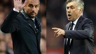 Pep Guardiola will lead Bayern Munich against his old club Barcelona while Carlo Ancelotti will continue the defence of Real Madrid's crown against one of his former employers at Juventus.