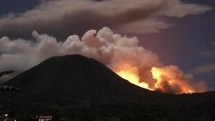 Mount Lokon is one of Indonesia's most active volanoes
