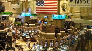 美國紐約華爾街股市