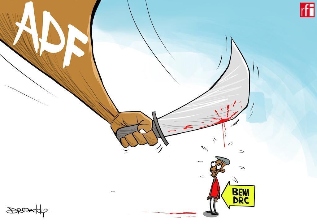DRC: Zaidi ya raia 100 wameuawa mwezi Novemba baada ya kushambuliwa na waasi wanaoaminiwa kuwa wa ADF karibu mjini Beni (28/11/2019)