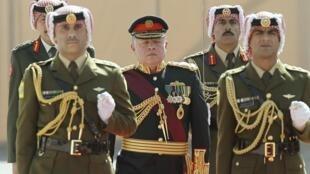 Король Иордании Абдалла II в Аммане 10/02/2013