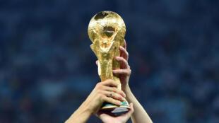 O Troféu de Campeão do Mundo.