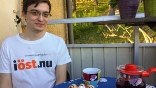 Константин Зыков в Стокгольме в гостях у шведских правозащитников