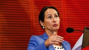 Ségolène Royal, ministre française de l'Environnement, de l'Energie et de la Mer.