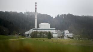 La centrale nucléaire de Mühleberg, près de la capitale suisse de Bern, le 27 novembre 2016.