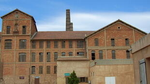 The Camp des Milles, a tile factory that was used as a transit camp for Jews on their way to Auschwitz in 1941 and 1942