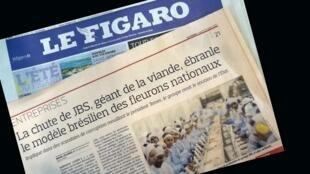 Le Figaro revela o outro escandalo de estado no Brasil: a decadência do gigante mundial de carne JBS