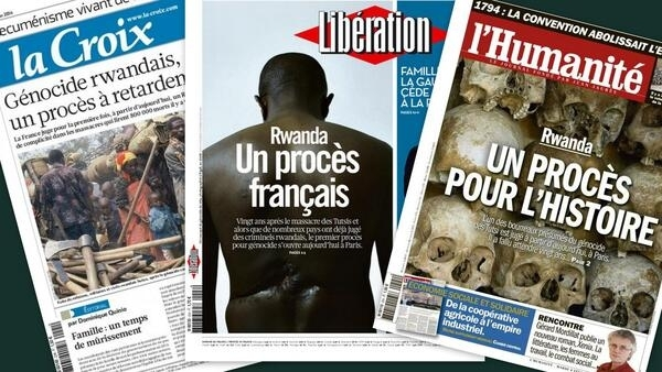 Capa dos jornais franceses La Croix, Libération, L'Humanité desta terça-feira, 4 de fevereiro de 2014.