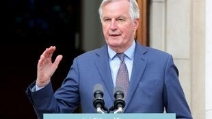 "The EU's chief Brexit negotiator Michel Barnier warned of a ""cliff edge"" in relations if a new trade deal is not agreed by the end of the year"