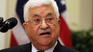 Shugaban Falasdinawa Mahmoud Abbas.