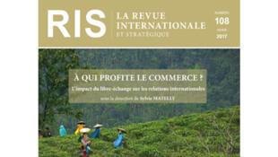 Couverture Revue internationale stratégique n° 108.