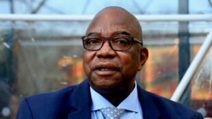 Le vice Premier ministre, ministre de l'Intérieur de RDC Gilbert Kankonde.