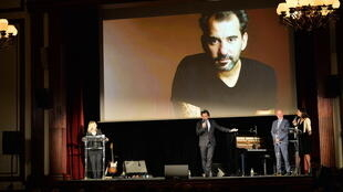 On screen and on stage, filmmaker Pablo Trapero, jury president of My French Film Festival on 13 January, Paris