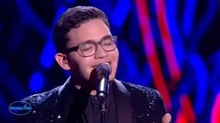 El venezolano Yadam Andrés, finalista de La Nouvelle Star en Francia.